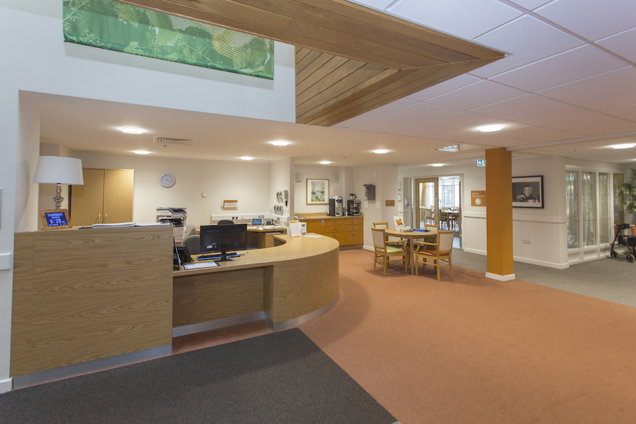Fern House reception