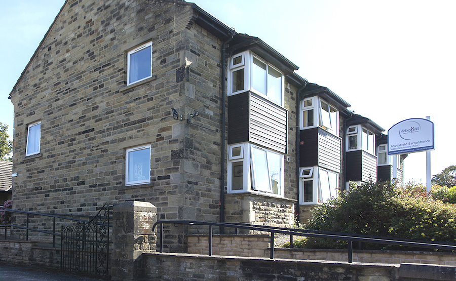 Supported Living at Abbeyfield House, Barnoldswick - Banner